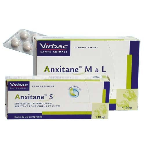 ANXITANE S - Anti stress pour chats et petits chiens