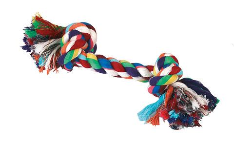 corde nou e en coton jouet pour chien jouets pour chien. Black Bedroom Furniture Sets. Home Design Ideas