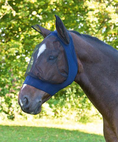 FINOSTRETCH Masque anti,mouches pour chevaux
