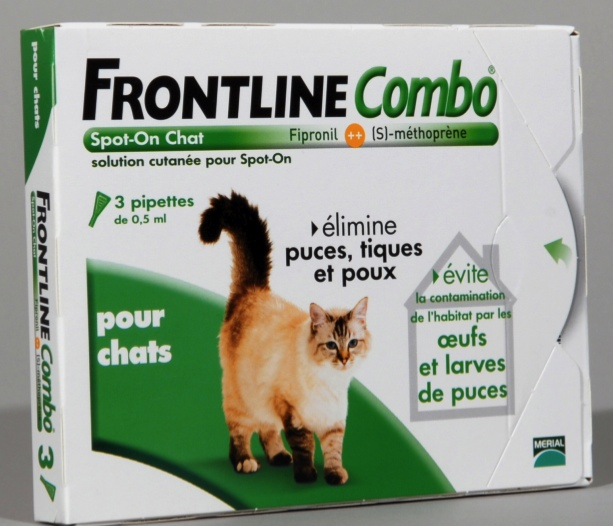 FRONTLINE COMBO SPOT ON CHAT - Pipette antiparasitaire