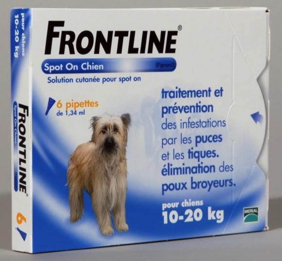 FRONTLINE SPOT ON CHIEN M (10-20 kg) - Pipette antiparasitaire